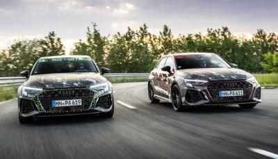 Nuova Audi RS3 2021: drifting da manuale con il differenziale Torque Splitter