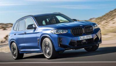 BMW X3 2022: il restyling viaggia a tecnologia ibrida
