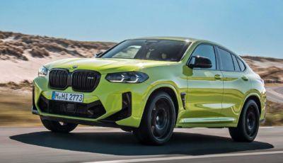 BMW X4 2022: il SUV Coupé diventa ancora più sportivo