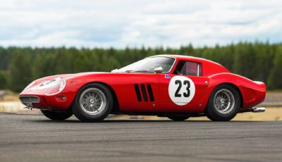 Ferrari 250 GTO: l'esemplare del 1962 torna in vendita per 54 milioni di Euro!