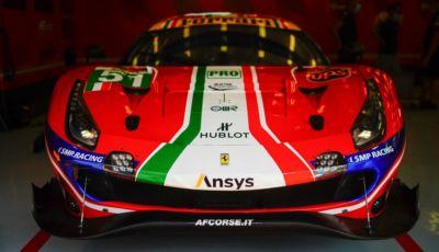 Ferrari e AF Corse insieme a Le Mans e nel Mondiale Endurance 2023