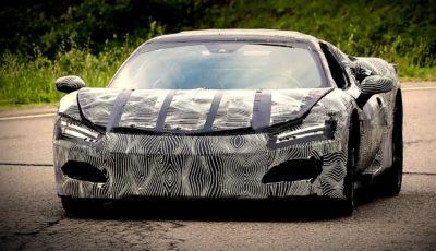 Ferrari F171: la nuova V6 ibrida plug-in è pronta al debutto
