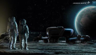 General Motors verso la Luna: in arrivo un rover con Lockheed Martin