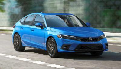 """Honda Civic 2022: svelata la """"hatchback"""" a cinque porte"""