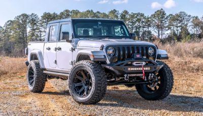 Jeep Gladiator: ancora più aggressiva nella versione speciale Black Widow
