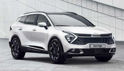 Kia Sportage 2022: il SUV coreano si rinnova da cima a fondo