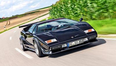 Lamborghini Countach: la supercar italiana compie 50 anni