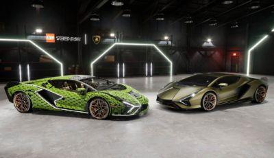 Lamborghini Sian: il modellino Lego diventa a grandezza naturale!