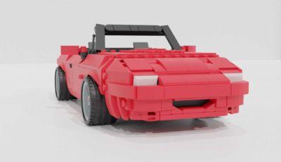 Mazda MX-5: e se diventasse un modellino Lego?