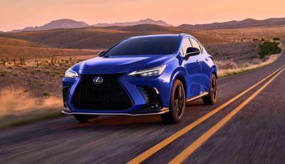 Lexus NX 2021: più raffinata, più tecnologica… e ora anche ibrida plug-in