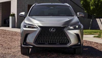 Lexus NX 2022: due motorizzazioni ibride a partire da 57.500 Euro