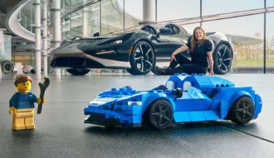 McLaren Elva: la supercar britannica si costruisce con i Lego