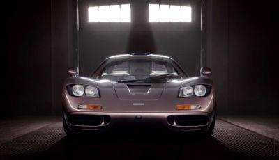 McLaren F1: all'asta un esemplare del 1995 con 400 km all'attivo!