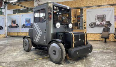 Mole Urbana: il quadriciclo elettrico retrò (anche da lavoro) arriva nel 2022