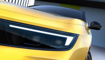 Nuova Opel Astra 2021: la nuova generazione (anche ibrida) arriva a fine anno