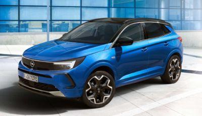 Opel Grandland 2022: il restyling ottiene il Vizor e il Pure Panel in stile Mokka