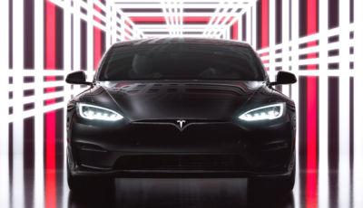 Tesla Model S Plaid: l'ammiraglia elettrica da sparo arriva a 1.020 CV!