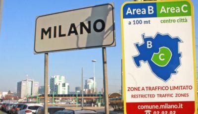 MoVe-In: da ottobre l'accesso all'area B di Milano sarà monitorato