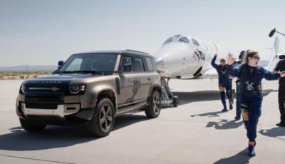 Land Rover va nello spazio insieme a Virgin Galactic
