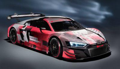 Audi R8: la LMS GT3 da corsa raggiunge lo standard Evo II