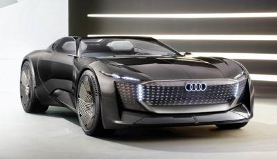 Audi Skysphere: il primo concept è una roadster elettrica da 632 CV