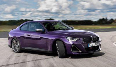 BMW Serie 2 Coupé 2021: estetica rinnovata e trazione posteriore fino a 374 CV