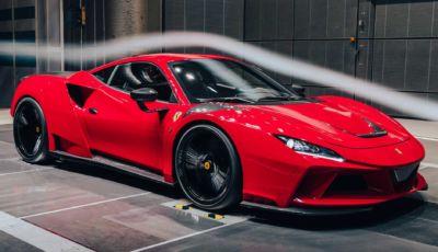 Ferrari F8 Tributo: con il kit N-Largo di Novitec arriva a 829 cavalli!