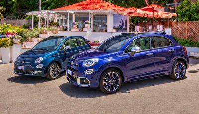 """Fiat 500 e 500X: arriva l'edizione speciale """"Yachting"""" a cielo aperto"""