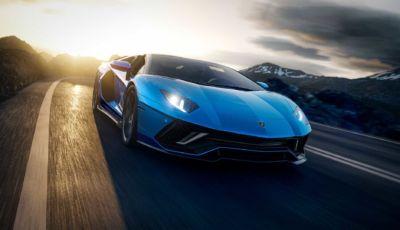 Lamborghini Aventador Ultimae: l'ultima a motore V12 tocca i 780 cavalli!