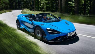"""McLaren 765LT Spider: la Super Series diventa """"open air"""""""