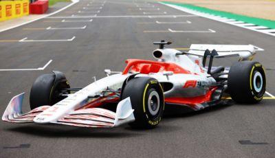 F1 2022: svelato a Silverstone il prototipo delle monoposto del futuro