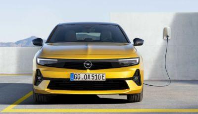 Nuova Opel Astra 2021: la sesta generazione è tutta nuova, dentro e fuori