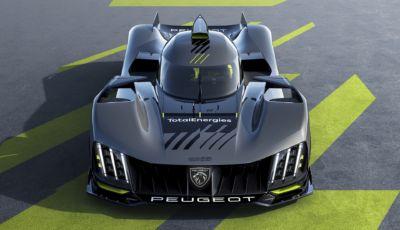 Peugeot 9X8: la nuova hypercar francese progettata per Le Mans