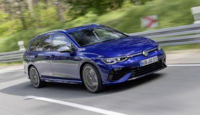 Volkswagen Golf R Variant: la station wagon tedesca diventa sportiva