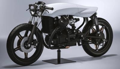 Biancaneve: la Honda CX 500 reinterpretata da Dotto Creations