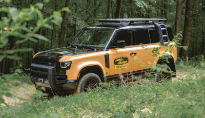 Land Rover: arriva la Defender Trophy Edition