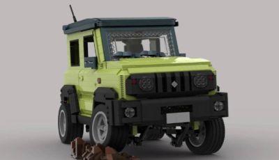 Suzuki Jimny LEGO: in miniatura ma ricca di dettagli