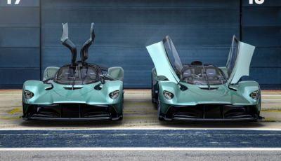Aston Martin Valkyrie: l'hypercar inglese da 1.160 CV diventa Spider