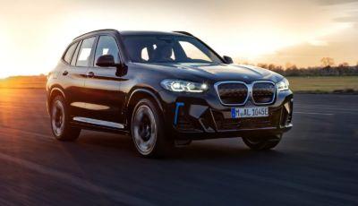 BMW iX3 2022: il SUV elettrico si aggiorna in vista del debutto a Monaco