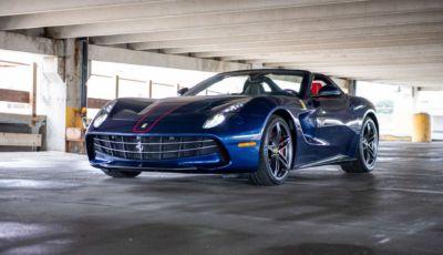Ferrari F60: all'asta la spider americana in serie limitata da 730 CV