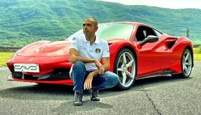 Da Roma a Capo Nord in Ferrari, l'impresa di Fabio Barone