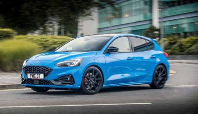 Ford Focus ST Edition: assetto regolabile ed EcoBoost da 280 cavalli