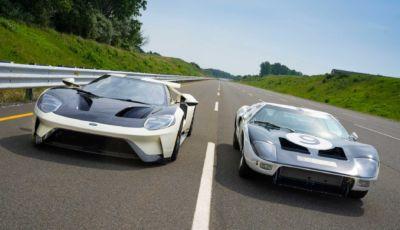 Ford GT Heritage Edition: la serie speciale in onore della GT40 di Le Mans