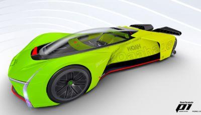 Ford trasforma la Fordzilla P1 Racer in un simulatore in scala reale