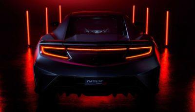 Honda NSX: la Type S in serie limitata sarà l'ultima ad essere prodotta