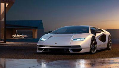 Lamborghini Countach 2022: la regina è tornata con un V12 ibrido da oltre 800 CV