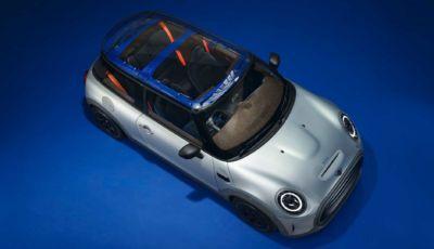 Mini Strip: la Cooper SE elettrica ridotta ai minimi termini da Paul Smith