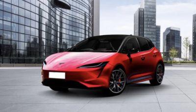 Tesla Model 2: i prototipi della compatta da 25.000 dollari pronti per fine 2021