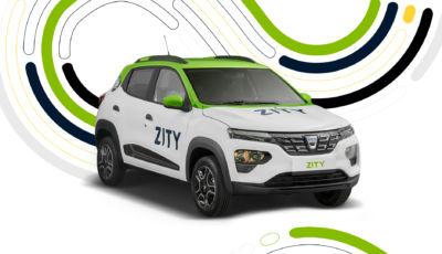 Dacia Spring al fianco di Renault Zoe nel car-sharing Zity by Mobilize
