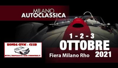 """HONDA CIVIC CLUB – 8° Raduno presso """"Milano AUTOCLASSICA"""""""